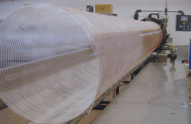 PU spiral steel wire reinforced hose extrusion line